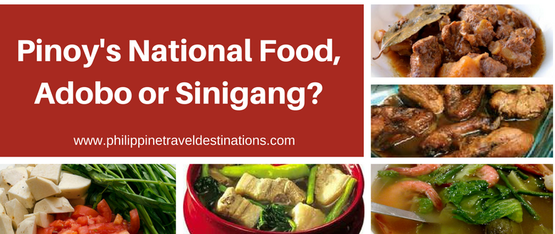 PH National Food, Adobo or Sinigang?